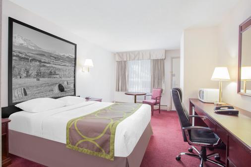 Super 8 by Wyndham Lethbridge - Lethbridge - Bedroom