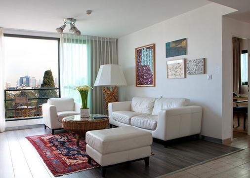 The Diaghilev Live Art Suites Hotel - Tel Aviv - Phòng khách