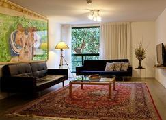 Diaghilev LOFT live art hotel - Tel Aviv - Living room