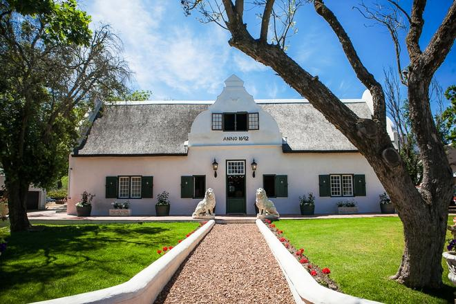 1692 De Kleijne Bos Country House - Paarl - Building