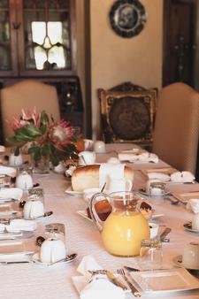 1692 De Kleijne Bos Country House - Paarl - Dining room