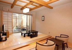 由布院七川休閒飯店 - 由布市 - 客廳