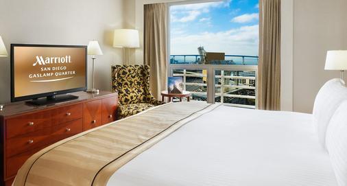 San Diego Marriott Gaslamp Quarter - San Diego - Bedroom