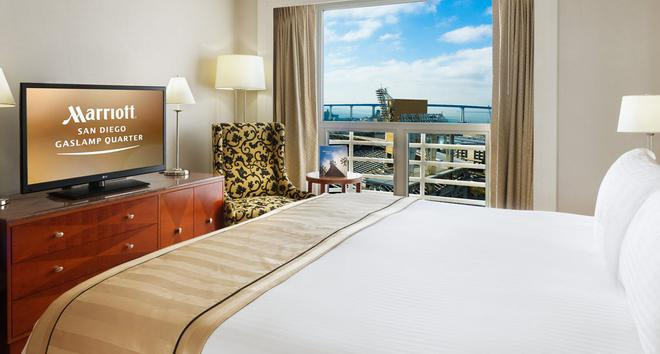 San Diego Marriott Gaslamp Quarter - San Diego - Schlafzimmer