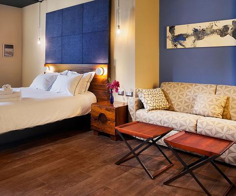 Port And Blue Tlv Boutique Suites Hotel - Tel Aviv - Bedroom