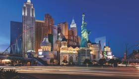 New York - New York Hotel & Casino - Las Vegas - Rakennus