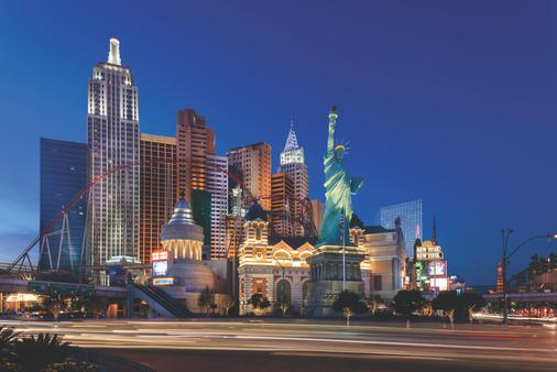 New York - New York Hotel & Casino - Las Vegas - Building