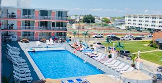 Olympic Island Beach Resort - Wildwood Crest - Bể bơi