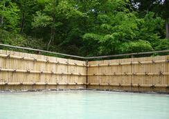 藏王温泉堺屋森之飯店Wald Berg - 山形市 - 游泳池