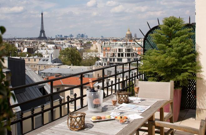 里特埃酒店 - 巴黎 - 巴黎 - 陽台