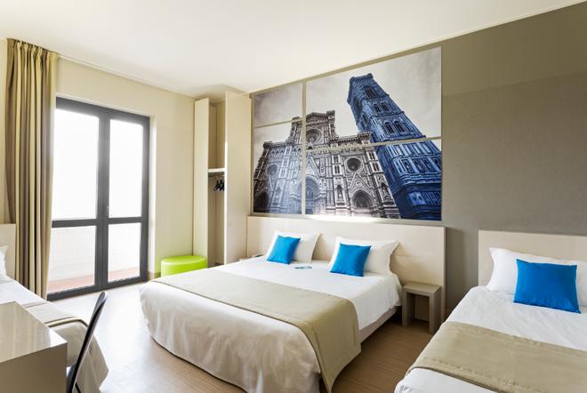 บีแอนด์บี โรงแรมฟิเรนเซ นูโอโวปาลาซโซ ดิ จูสติเซีย - ฟลอเรนซ์ - ห้องนอน