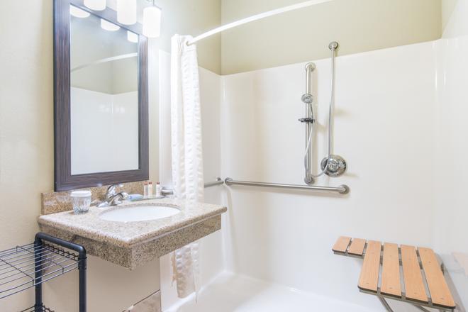 威利斯頓溫德姆山楂套房酒店 - 威里斯頓 - 威利斯頓 - 浴室