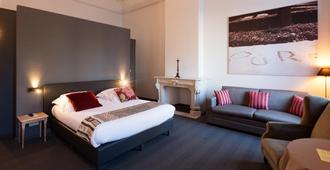 Hotel Gravensteen - גאנט - חדר שינה