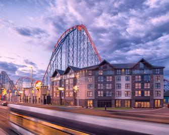 Boulevard Hotel - Blackpool - Gebouw