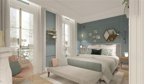 Hôtel & Spa Royal Madeleine - Pariisi - Makuuhuone