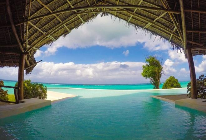 拉斯米札姆維海灘渡假村 - 米查姆维 - Michamvi - 游泳池