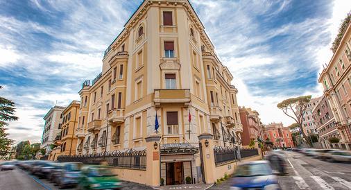 Hotel Villa Torlonia - Rom - Gebäude