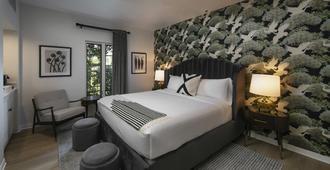 Colony Palms Hotel - פאלם ספירנגס - חדר שינה