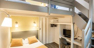 Hotel Au Patio Morand - Лион - Спальня