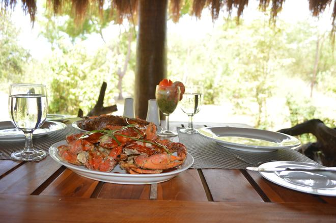 Giman Free Beach Resort - Kalkudah - Food