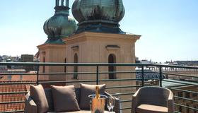 Hotel Leon D´oro - Praga - Terrazza