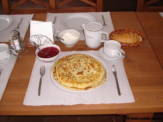 Surikovykh Guest House - Suzdal - Food