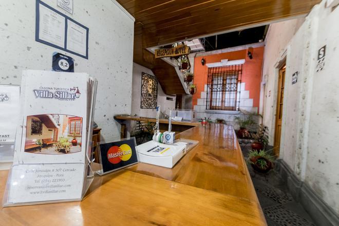 Villa Sillar - Arequipa - Front desk