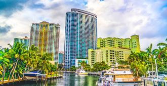 Riverside Hotel - Fort Lauderdale - Näkymät ulkona