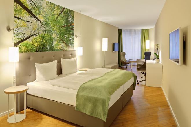 純風水元素概念酒店 - 布萊梅 - 不來梅 - 臥室