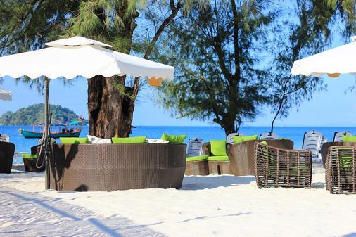 White Boutique Hotel & Residences - Sihanoukville - Außenansicht