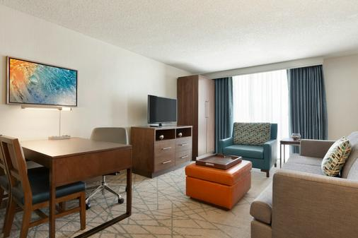 Embassy Suites by Hilton San Luis Obispo - San Luis Obispo - Living room