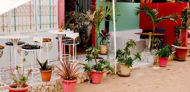 Hotel Du Phare - Dakar - Patio