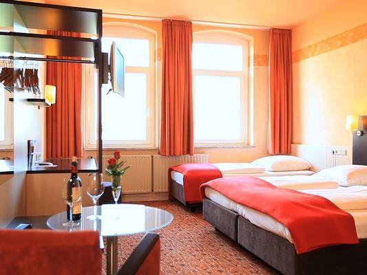 Adesso Hotel - Kassel - Makuuhuone