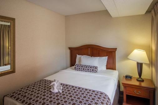 河畔拱門皇冠廣場酒店 - 聖路易 - 聖路易斯 - 臥室