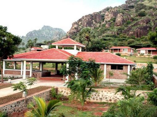 Indien Hermitage - A Resort -Kanyakumari - Kanniyākumāri - Outdoors view