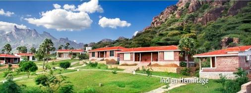 Indien Hermitage - A Resort -Kanyakumari - Kanniyākumāri - Building