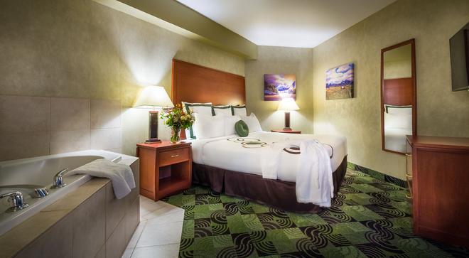 鹿腳旅館及賭場 - 卡加立 - 卡加利 - 臥室