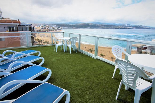 阿洛伊坎特拉斯 RK 酒店 - 大加那利島拉斯帕爾瑪斯 - 大加那利島拉斯帕爾馬斯 - 陽台