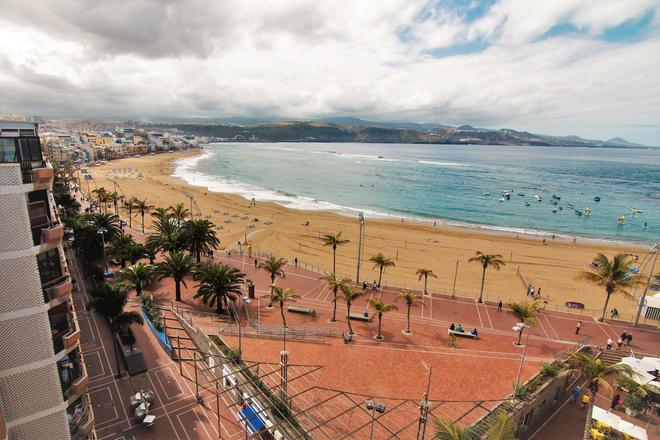阿洛伊坎特拉斯 RK 酒店 - 大加那利島拉斯帕爾瑪斯 - 大加那利島拉斯帕爾馬斯 - 海灘