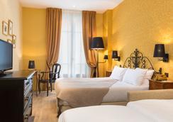 Hotel Le Grimaldi by Happyculture - Nizza - Camera da letto