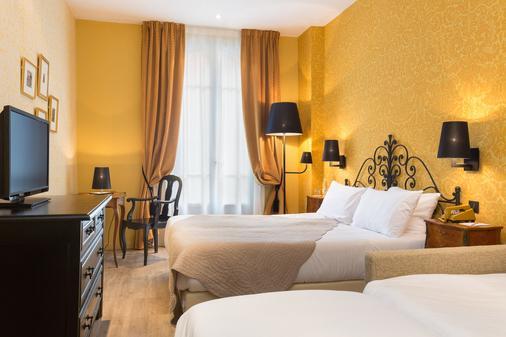 Hôtel Le Grimaldi by Happyculture - Nizza - Makuuhuone