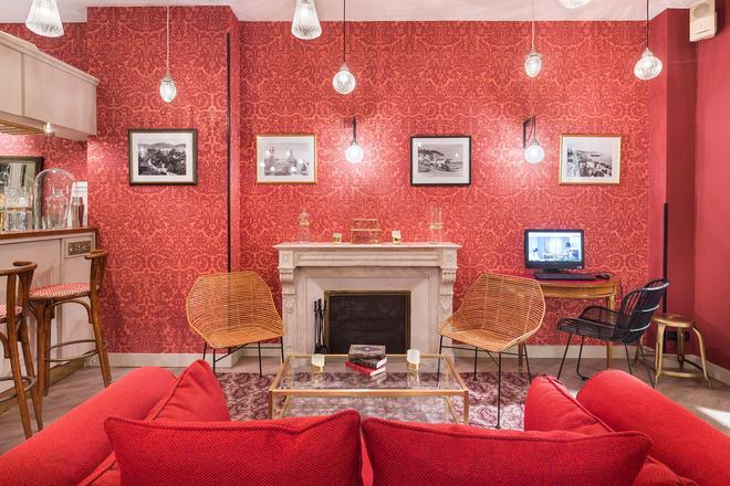 Hotel Le Grimaldi by Happyculture - Nizza - Area lounge