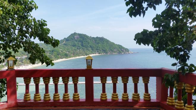 Sea Breeze Resort - Koh Phangan - Parveke