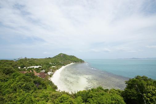 Sea Breeze Resort - Ko Pha Ngan - Bãi biển