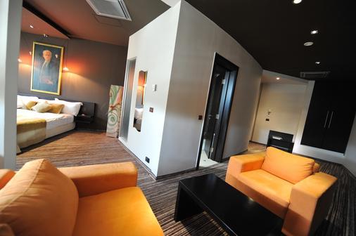 Design Hotel Mr President - Belgrade - Living room