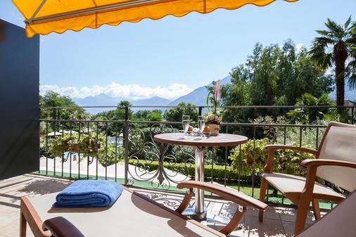 Boutique-Hotel Remorino - Minusio - Balcony