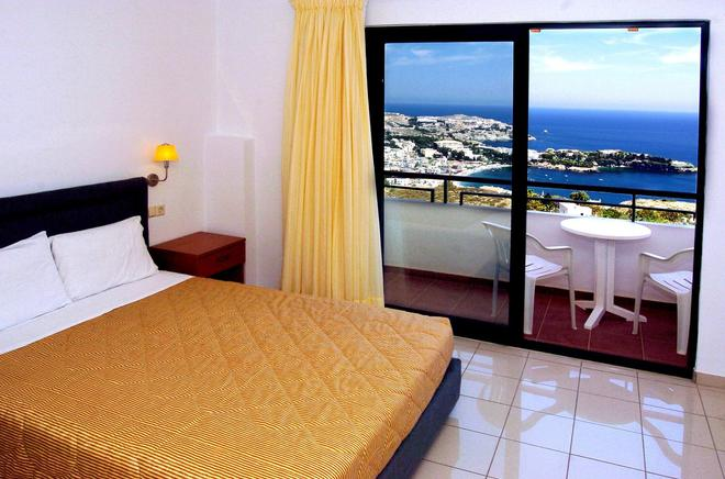 Pela Mare Hotel - Agia Pelagia - Makuuhuone