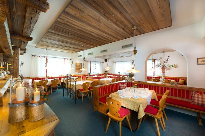B&B Hotel Die Bergquelle - Флахау - Ресторан