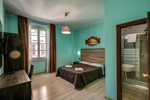Hotel Basilea - Florenz - Schlafzimmer