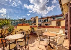 Hotel Basilea - Florenz - Dachterrasse